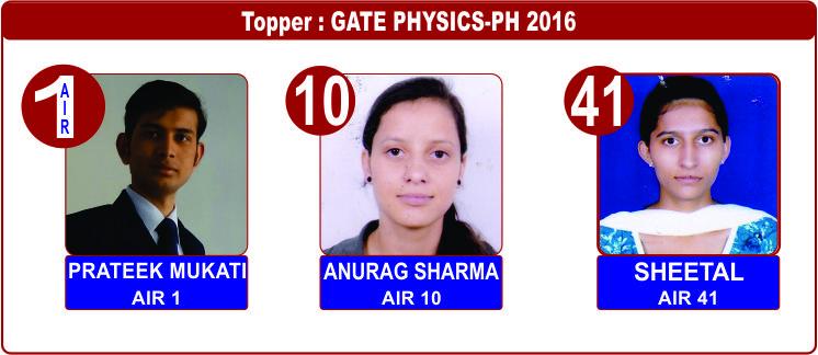 GATE-PHYSICS-2016